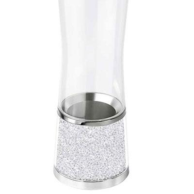 """Swarovski Crystalline 11 1/8"""" Crystal Vase"""