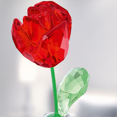 Swarovski Crystal, Flower Dreams Red Rose
