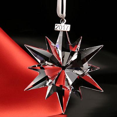 Swarovski Crystal, Annual Edition 2017 Crystal Christmas Ornament