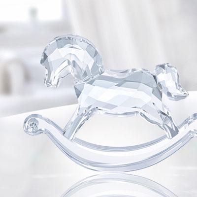 Swarovski Crystal, Rocking Horse