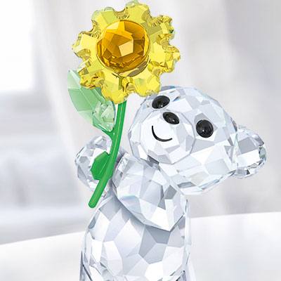 Swarovski Crystal, Kris Bear A Sunflower For You