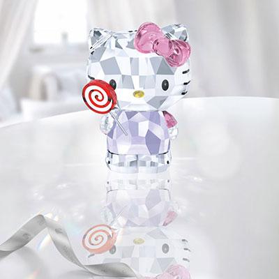 Swarovski Crystal, Hello Kitty Lollipop