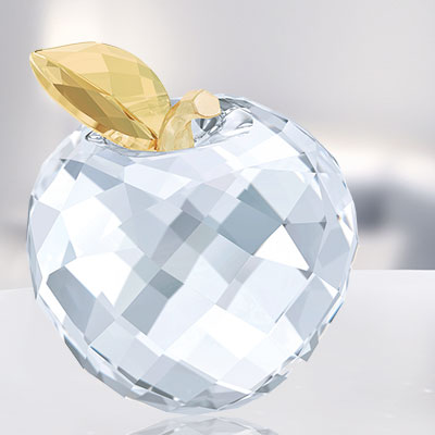 Swarovski Crystal, Asian Apple Golden Shine