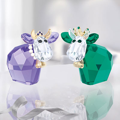 Swarovski Crystal, King and Queen Mo, Limited Edition 2017