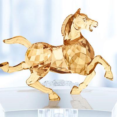 Swarovski Crystal, Chinese Zodiac Horse