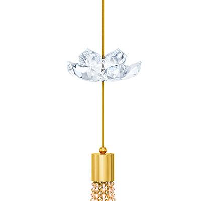 Swarovski Asian Symbol Lotus Ornament