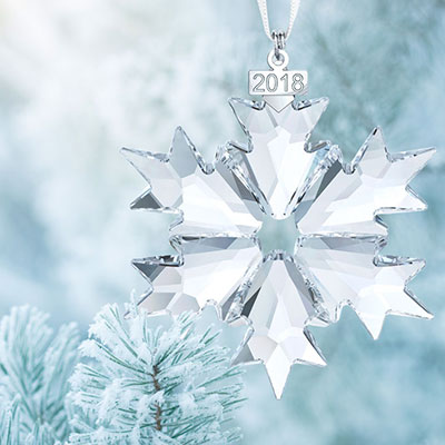 Swarovski Crystal, Annual Edition 2018 Crystal Ornament