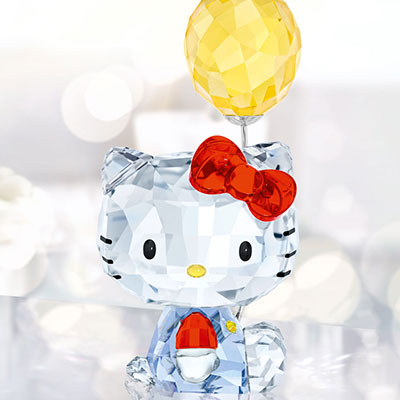 Swarovski Crystal, Hello Kitty Balloon