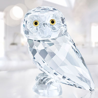 Swarovski Crystal, Feathered Beauties, Owlet