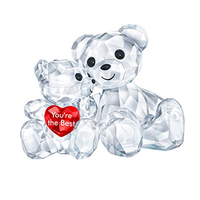 Swarovski Crystal Kris Bear, You Are The Best