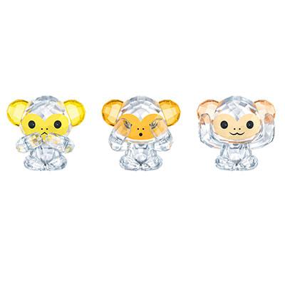 Swarovski Asian Icons Three Wise Monkeys
