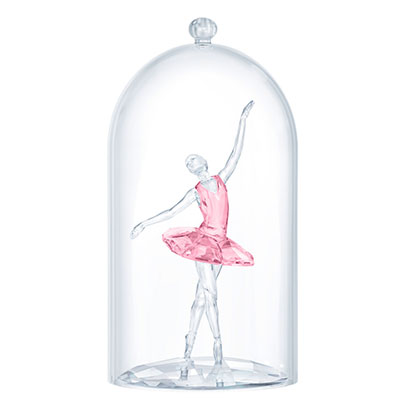 Swarovski Dancers Ballerina Under Bell Jar