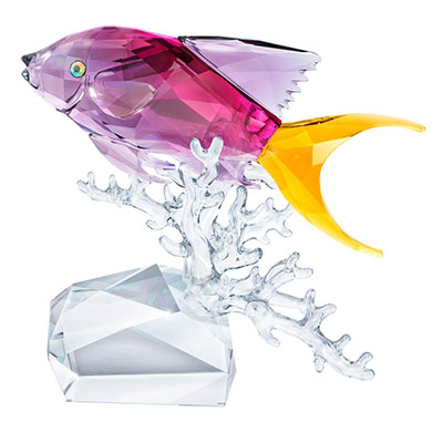 Swarovski Crystal Ocean Anthias Fish