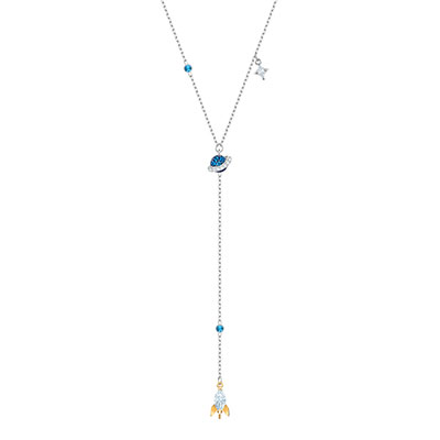 Swarovski Jewelry, Out of This World Necklace Y Space Multi Color Mix
