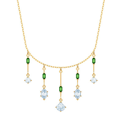 Swarovski Jewelry, Oz Necklace Medium Crystal Gold