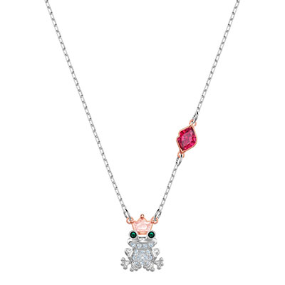 Swarovski Jewelry, Out of This World Necklace Kiss Multi Color Mix