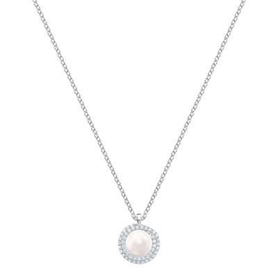 Swarovski Jewelry, Originally Pendant Medium Crystal Rhodium Silver