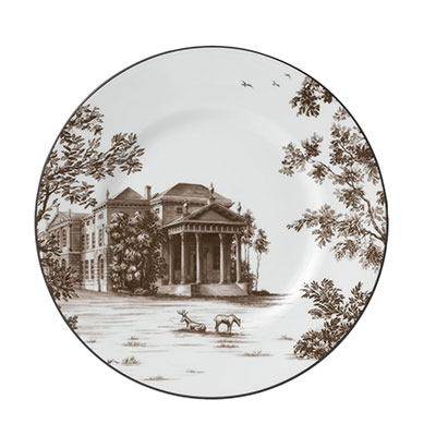 """Wedgwood China Parkland Accent Plate 9"""" West Wycombe"""