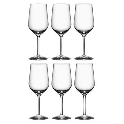 Orrefors Crystal, Morberg Crystal Red Wine, Set of 6