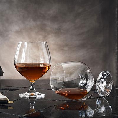 Orrefors Crystal, Prestige Cognac, Set of Four
