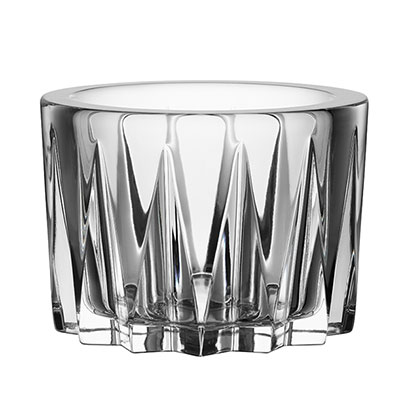 Orrefors Crystal, Sarek Small Crystal Bowl with Lid