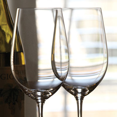 Riedel Vinum, Zinfandel Riesling Grand Cru Crystal Wine Glasses, Pair