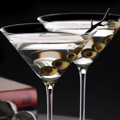 Riedel Vinum XL Martini Crystal Glasses, Pair