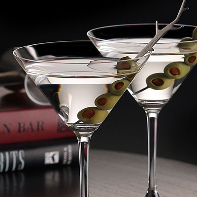 Riedel Vinum, Martini Crystal Glasses, Pair