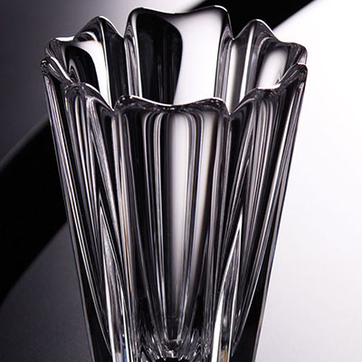 "Orrefors Crystal, Corona 5 1/2"" Crystal Vase"