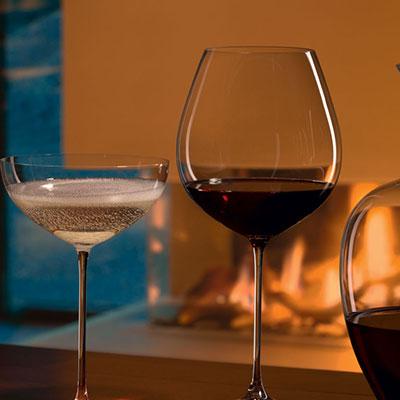 Riedel Veritas, Riesling, Zinfandel Crystal Wine Glasses, Pair
