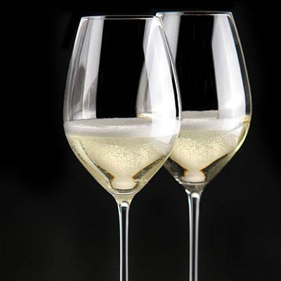 Riedel Veritas, Champagne Crystal Glasses, Pair