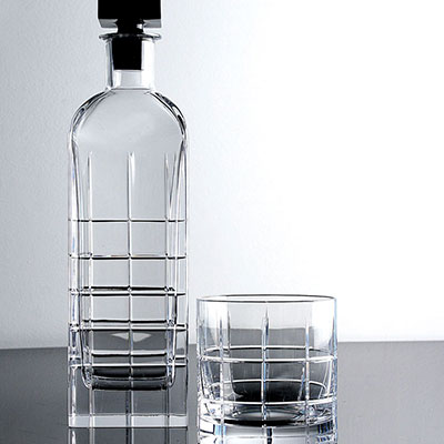 Orrefors Crystal, Street Crystal Decanter