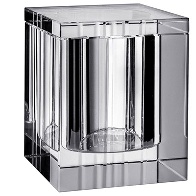 Orrefors Crystal, Ice Covered Box, Large