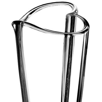 "Orrefors Crystal, Heart 10"" Vase"
