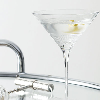 Ralph Lauren Broughton Crystal Martini, Single
