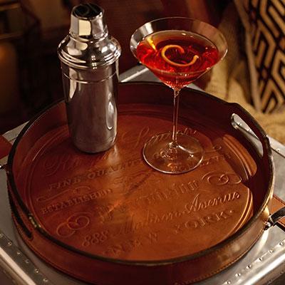 Ralph Lauren Cantwell Bar Tray