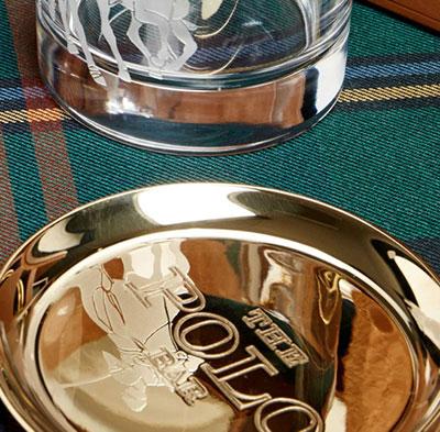 Ralph Lauren Kipton Bottle Coaster, Single