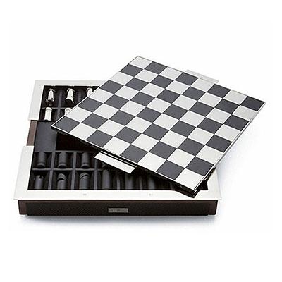 Ralph Lauren Sutton Carbon Fiber Chess Set