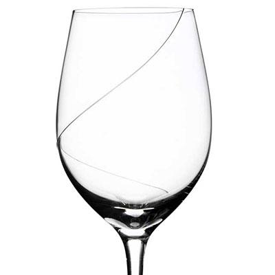 Kosta Boda Line Crystal Wine, Single
