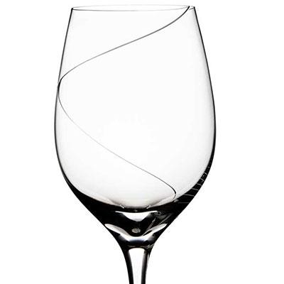 Kosta Boda Line Crystal Goblet, Single