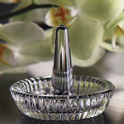 Waterford Crystal, Round Ring Holder