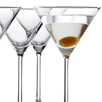 Lenox Tuscany Classics, Crystal Cocktail Crystal Martini, Set of Six