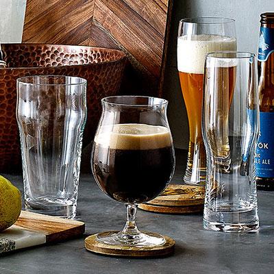 Lenox Tuscany Classics Craft Beer Stemmed Pilsner, Set of 4