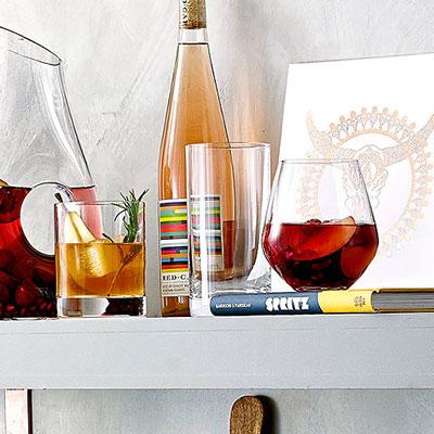 Lenox Tuscany Classics, Crystal Hiball, Set of 4