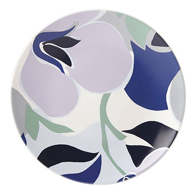 Kate Spade China by Lenox, Nolita Blue Floral Accent Plate