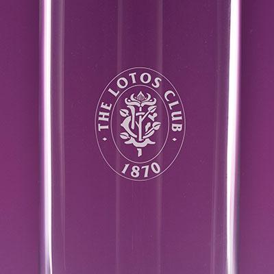 "Crystal Blanc, Personalize! 11"" Studio Vase"