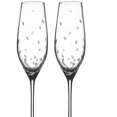 Royal Doulton, Celebrations Toasting Crystal Flute, Pair