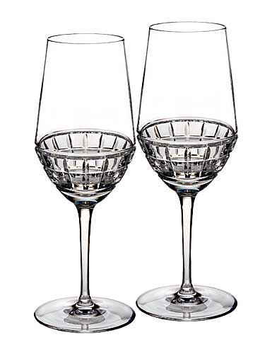 Waterford Crystal, Contemporary London Crystal Wine Glass, Pair