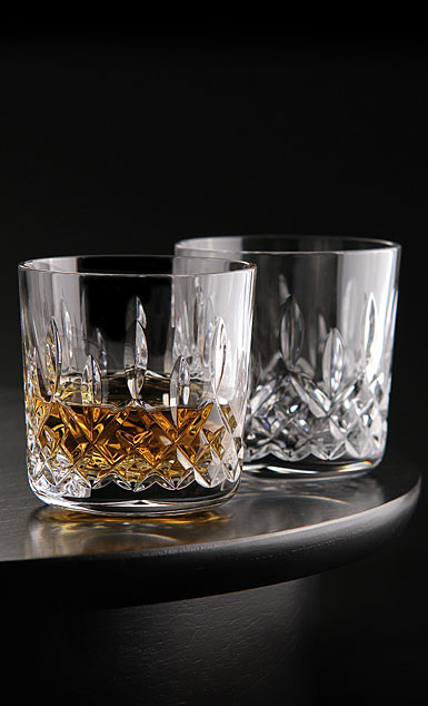 Waterford Crystal, Giftology Lismore Old Fashion, Pair