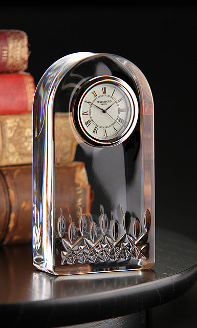 Waterford Crystal, Giftology Lismore Essence Crystal Clock